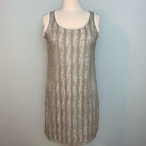 Metallic Daisy Fuentes dress